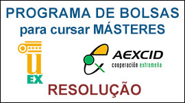 Resolución Becas Master Universidad de Extremadura
